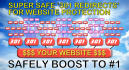 safe and powerful SEO tiered 301 redirect backlinks