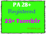 give 20 Registered Expired Tumblr Blog with PA 28 above
