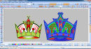 image to digitize embo logo design into4 hours