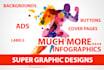design Stunning Web Graphics,BANNER ads,Infographics,flyers