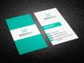 professional business card for company or individual