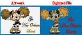 digitize machine embroidery design within 4 hours
