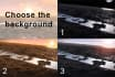 create a sea ocean water HD opener video intro