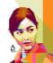 draw your photo into popart WPAP style