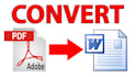 convert PDF to Word, Excel, PowerPoint