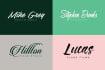 design a modern Signature brush logo