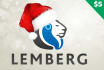 decorate your Logo with a Santa look
