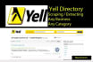 scrape business data from Yell or Yellow pages
