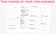 give you a planner to transform your yoga business