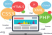 develop custom website with PHP