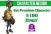 design creative Character Design