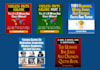 give you 5 Kindle Ebooks packed with funny and weird facts, useless trivia, amazing bar jokes and famous quotes