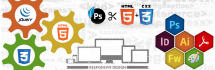 convert any type psd to html website