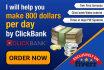 give CLICKBANK Professional Video tutorials