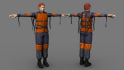 create 3D character and modeling
