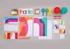 design 3 Amazing Flat or Minimalist logo