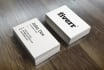 do OUTSTANDING and Double side businesscard