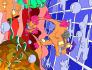 create a digital surrealistic visualization