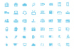 design 10 flat icons in any subject