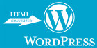 convert your Html template to WordPress theme