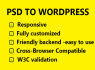 psd To Wordpress, Psd to Wordpress responsive