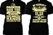 wonderful typographic tshirt design