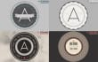 design a Retro Badge and Apply it to a Realistic Mockup
