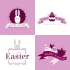 design your business for EASTER as logo or greeting cards or anything