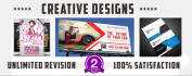 design creative Flyer or poster