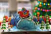 make christmas greeting animation with your LOGO