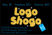 design 2 STUNNING  logo in 24 hours with free Source files