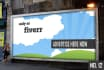 put your logo and a image on a eye catching billboard