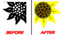 do background removing, vectorize and redraw any images