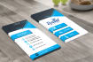 design AWESOME two side business card in 24 hours