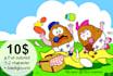 draw children book illustration