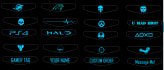 create and ship two PS4 lightbar decals great gift for gamer