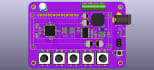 design pcb schematic, layout and 3d pcb using KiCad