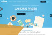 develop modern and awesome landing or squeeze page for your business