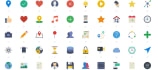 give you a vector icon pack in any color you want