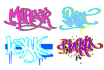 graffiti your name or word in my awesome style