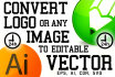 do any COREL Draw job Redraw, Vectorise, Recolor, Convert