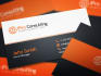 create awesome business card