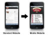 convert your website into mobile site