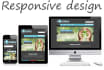 develop 5 pages responsive html website
