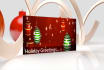 create this video CHRISTMAS greeting