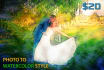 make awesome digital water color painting from your photo