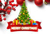 create CHRISTMAS card flyer poster