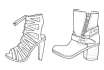 draw your favorite shoes