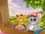 make a cute children illustrations