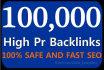 provide 4,500 SEO, 60 High PR9 Backlinks